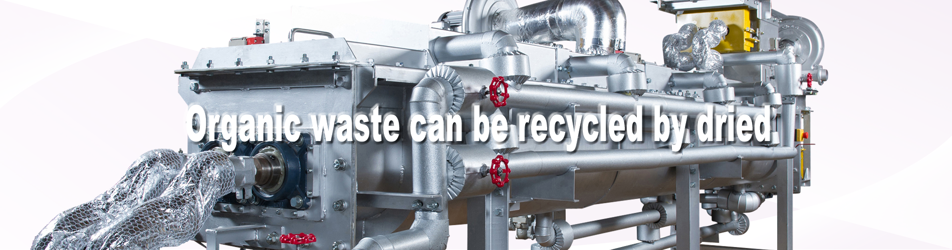 Organic waste can be recycled by being dried