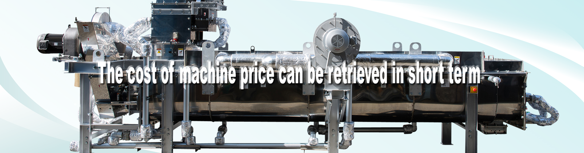 the cost of machine price can be retrieved in short term
